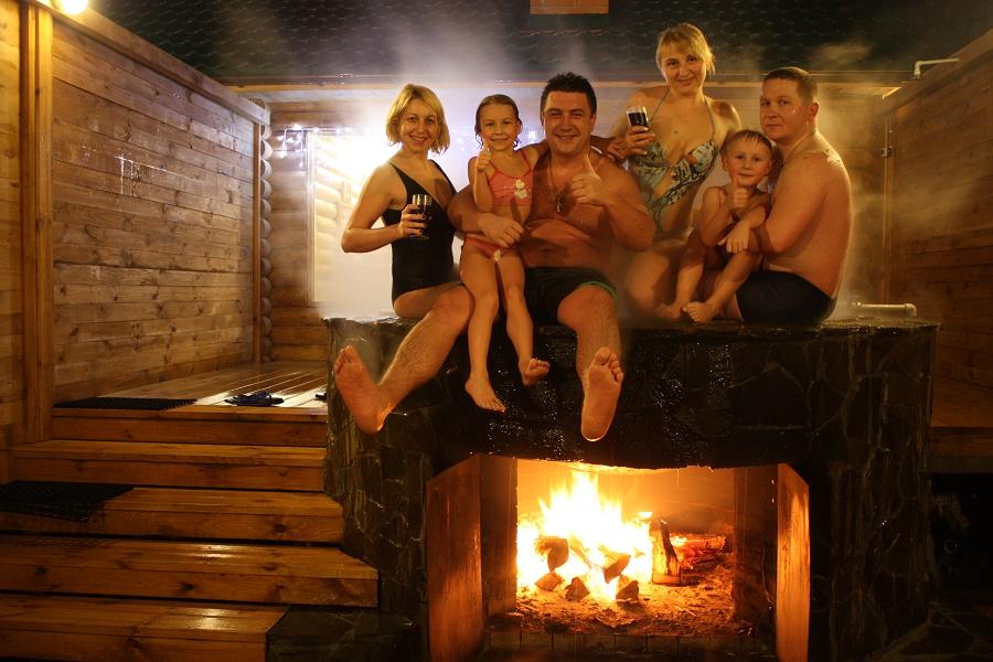 Отдых с семьей в Киеве - Баня Афродиты