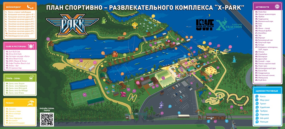 Экстрим парк Киев, Парк Дружбы Народов