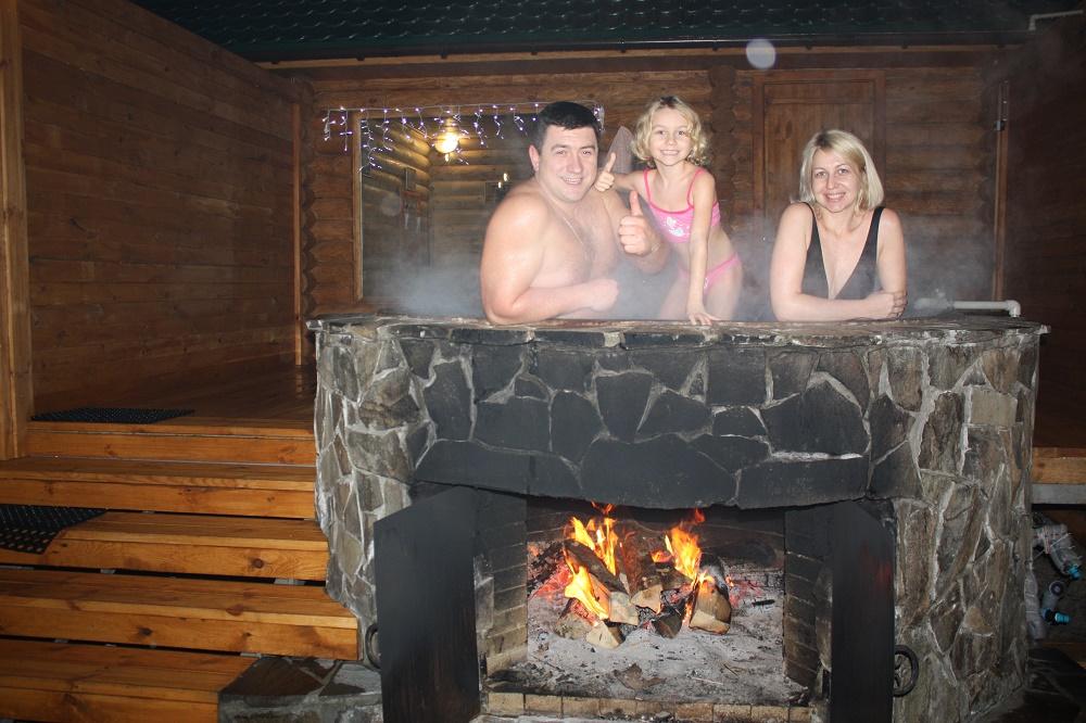 семейный отдых в Киеве - чаны