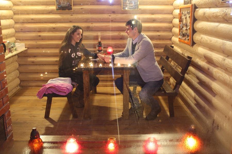 романтическое свидание для двоих