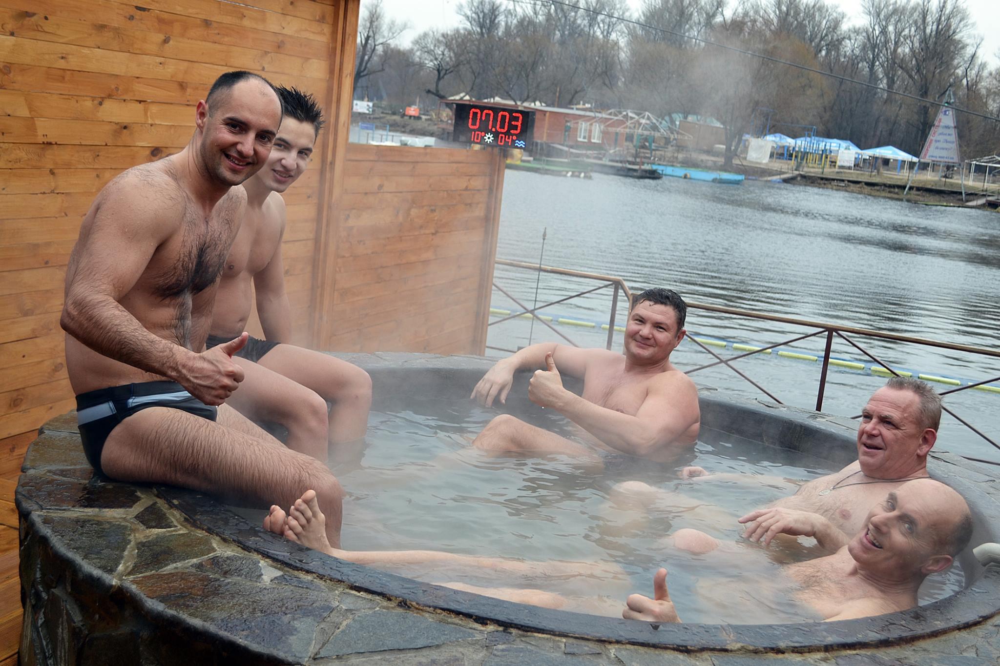 купание в чане в Киеве
