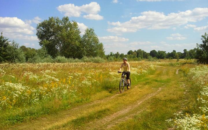 Велопрогулка в Парке Дружбы народов