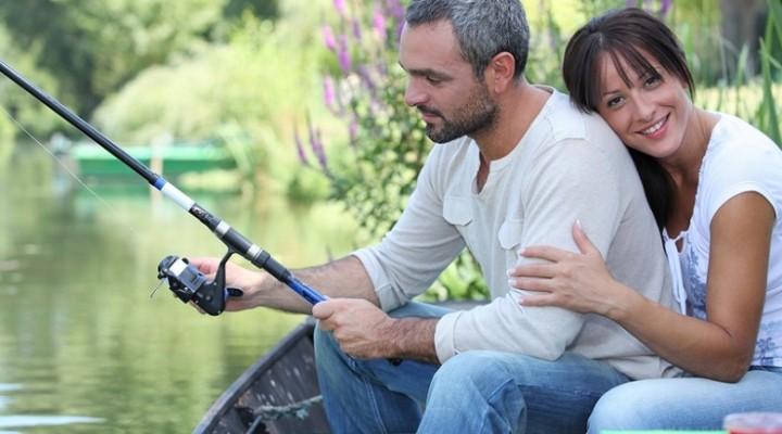 романтическая рыбалка для двоих